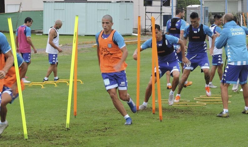 entrenamiento racing club