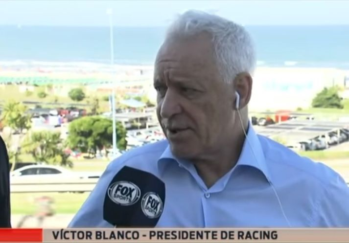 victor blanco presidente racing