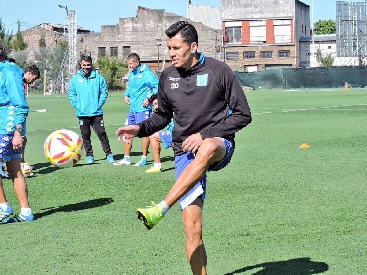 entrenamiento racing predio