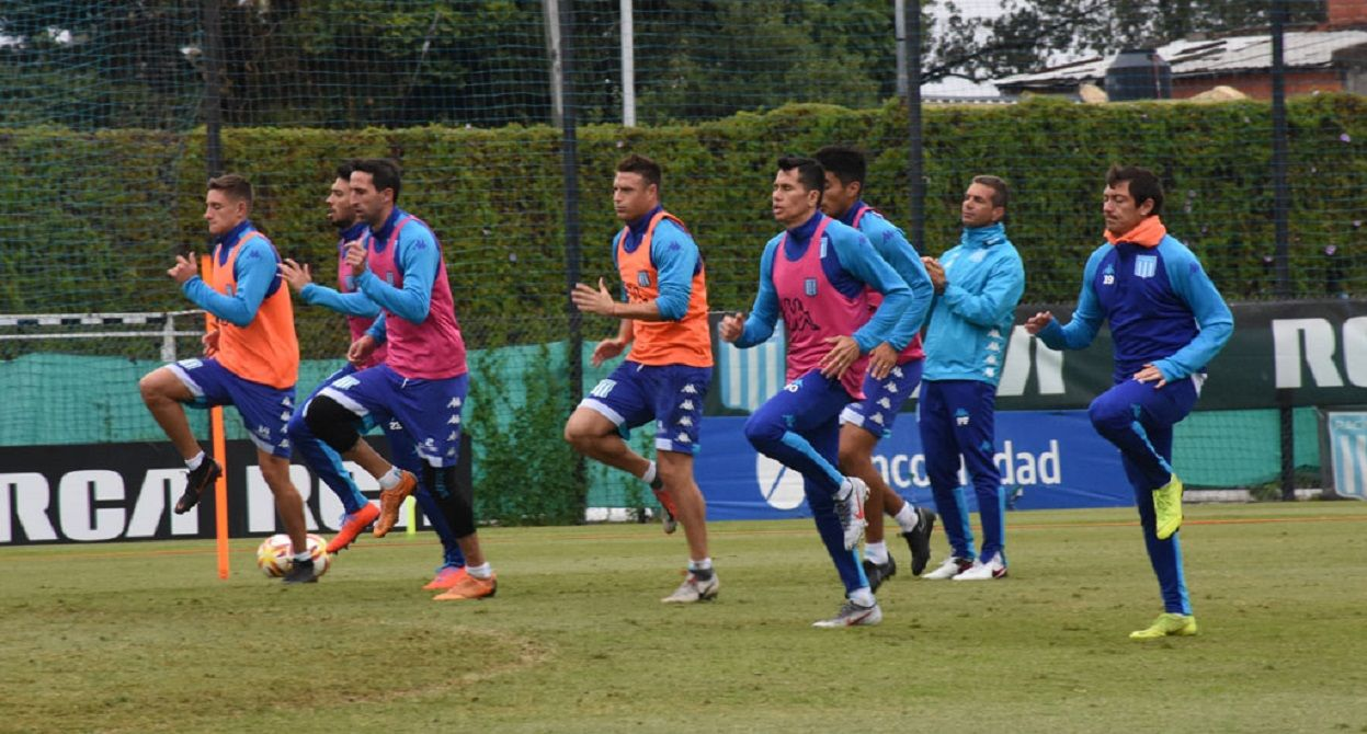 racing entrenamiento copa superliga