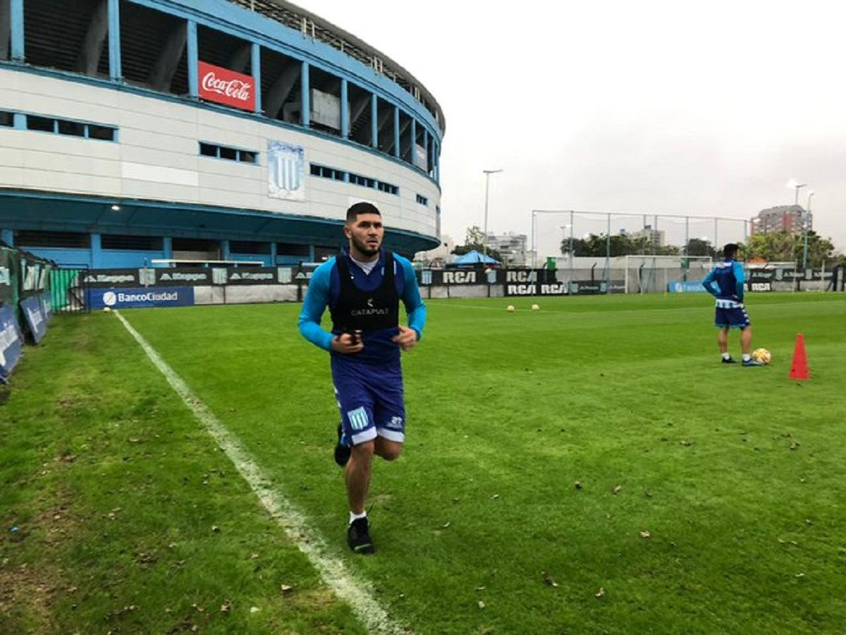 david barbona racing entrenamiento