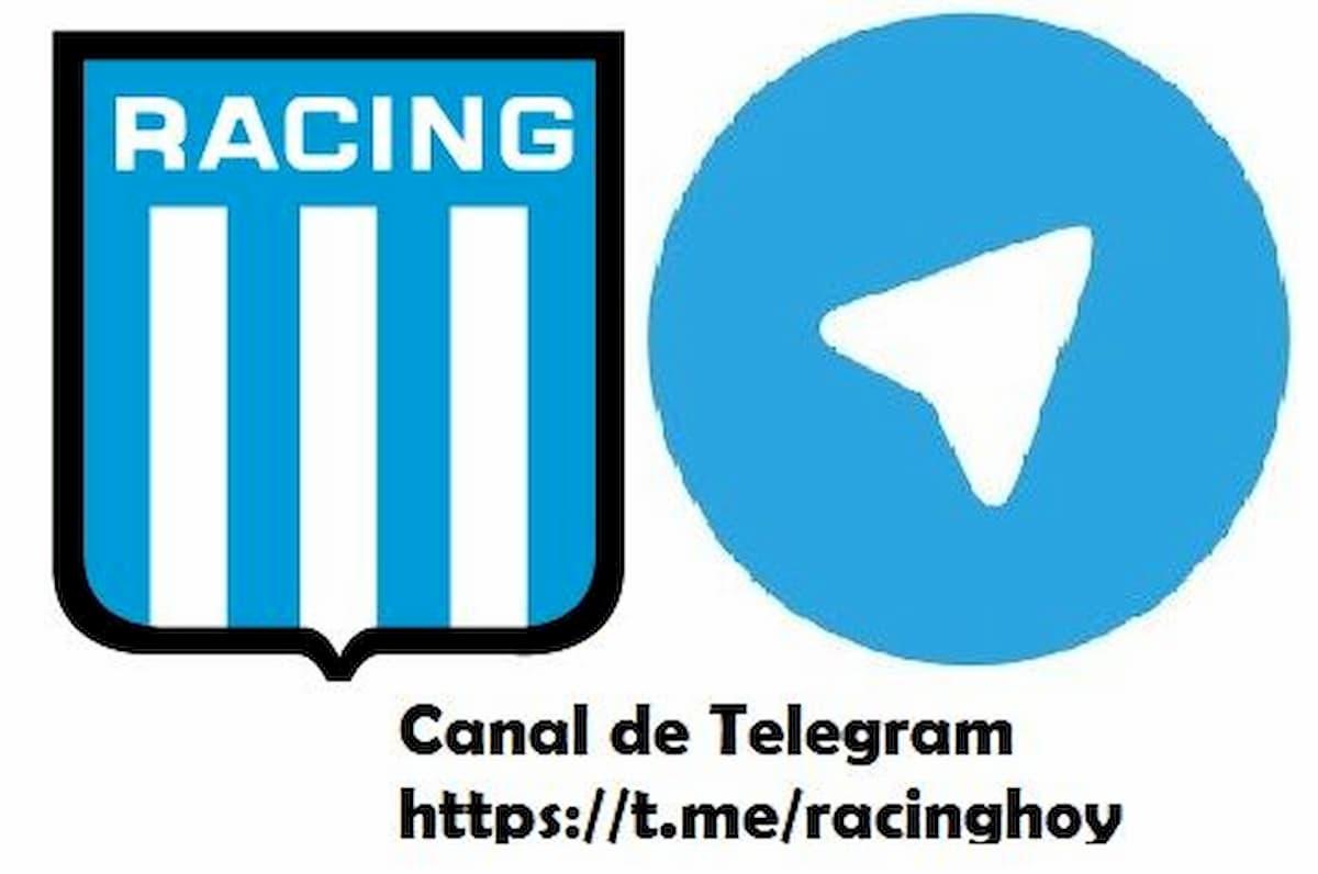 Canal de Telegram de Racing Club