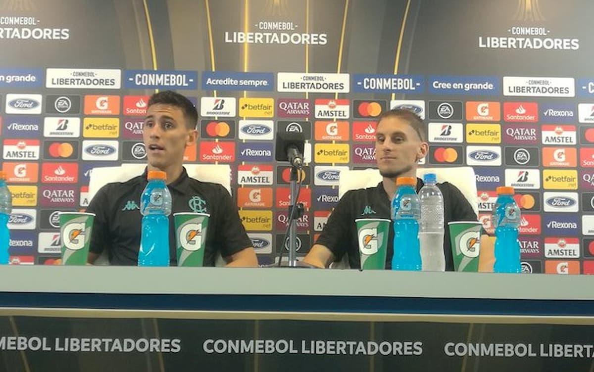 Rojas y Beccacece en Conferencia